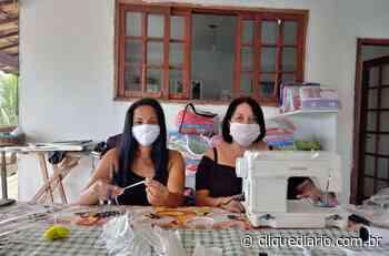Em Casimiro de Abreu, artesãs e voluntárias confeccionam mais de cinco mil máscaras para ajudar no combate à Covid-19 - Clique Diário