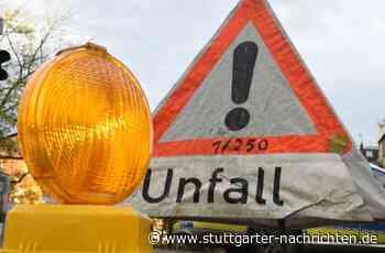 Unfall bei Remseck - Motorradfahrerin wird schwer verletzt - Stuttgarter Nachrichten
