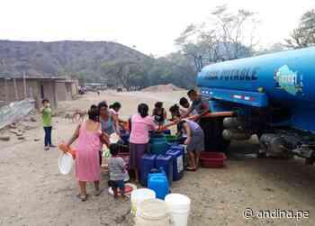 Lambayeque: brindan agua potable a más de 3000 familias vulnerables de Motupe y Olmos - Agencia Andina