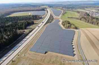 Fast 35000 Solarmodule stehen bei Rottenbach - inFranken.de