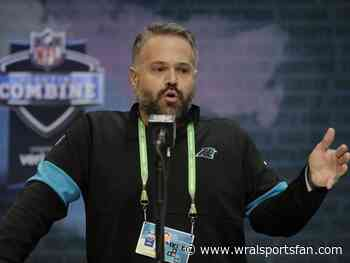 Fresh off his first NFL Draft, Matt Rhule is ready for the rebuild - but wants to win now
