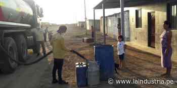Distribuyen agua potable en zonas rurales vulnerables de Ascope - La Industria.pe