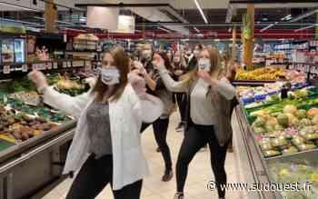 L'équipe d'un supermarché de Soorts-Hossegor (40) danse sur « Happy » - Sud Ouest