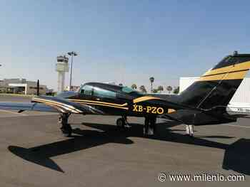 Guardia Nacional asegura aeronave con matrícula abultada - Milenio