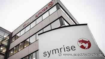 Symrise hält Wachstumstempo in Corona-Krise nicht - Süddeutsche Zeitung