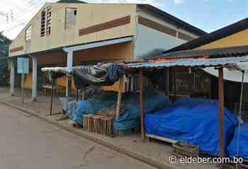 Mercado de Pailón está cerrado por 48 horas y solo hay circulación peatonal - EL DEBER