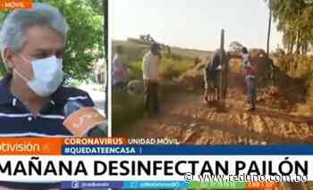 Pailón iniciará plan de desinfección desde este martes - Red Uno de Bolivia
