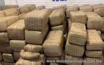 Con 900 kilos de marihuana, detiene a dos hombres en Sonoyta - El Sol de Hermosillo