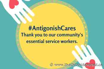 'Antigonish Cares' posters sent to town and county mailboxes to support essential service workers - TheChronicleHerald.ca