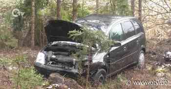 Verkehrsunfall mit einem Leichtverletzten in Richtung Parkstein - Oberpfalz TV