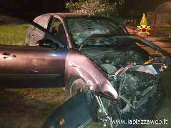 San Giorgio delle Pertiche, incidente tra auto e camion - La Piazza