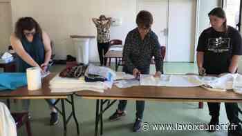 Hem : un atelier couture de masques au centre social des Trois Villes - La Voix du Nord