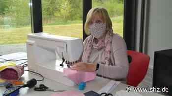 Gemeinsam die Corona-Krise meistern: Mildstedt: Lehrer nähen Atemschutz-Masken für Schüler und Kollegen   shz.de - shz.de