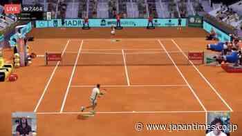 Injured Kei Nishikori returns to court at virtual Madrid Open - The Japan Times