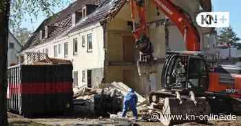 Blocks der Wankendorfer - Abriss hat begonnen - mit Vorsicht - Kieler Nachrichten