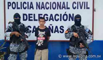 Arrestan en flagrancia a pandillero cuando transportaba cocaína en Sensuntepeque - Diario La Página - Diario La Página