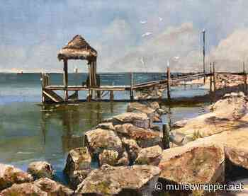 Saint George Island Paint Out going online - Mulletwrapper