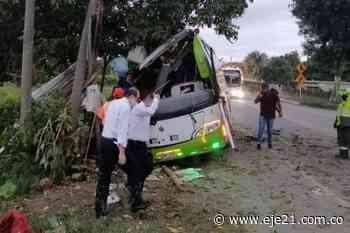 Accidente bus que repatriaba venezolanos deja 2 muertos en Cerritos - Eje21
