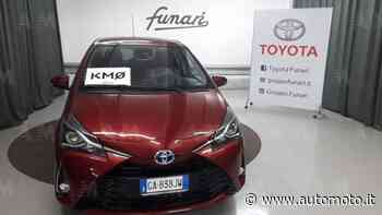 Vendo Toyota Yaris 1.5 Hybrid 5 porte Active Plus nuova a Casagiove, Caserta (codice 7446762) - Automoto.it