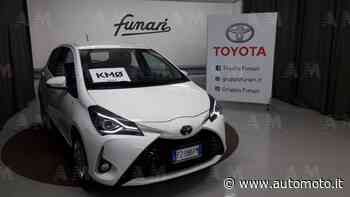 Vendo Toyota Yaris 1.0 72 CV 5 porte Active nuova a Casagiove, Caserta (codice 7446728) - Automoto.it