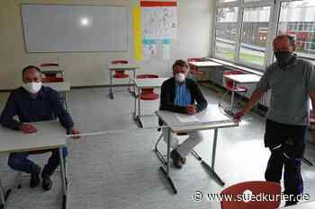 Stetten am kalten Markt: Schulzentrum bereitet sich auf den Start des Präsenzunterrichts vor - SÜDKURIER Online