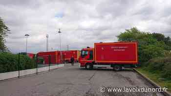Libercourt: fuite d'acide sur un camion citerne dans la zone des Botiaux - La Voix du Nord