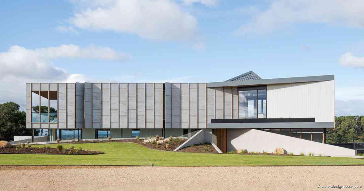 megowan architectural builds three angle house in mount martha, australia - Designboom