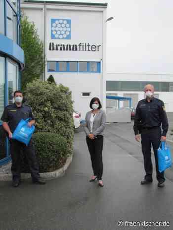 Dietenhofen + Heilsbronn: +++ Maskenspende an die Polizeiinspektion Heilsbronn +++ - Fränkischer.de