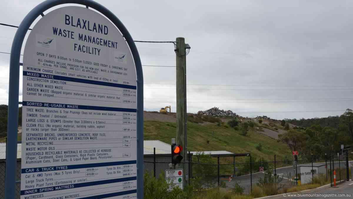 Blaxland and Katoomba tips to reopen - Blue Mountains Gazette