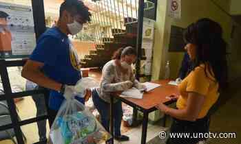 En Abasolo, Guanajuato, mujeres reparten despensas a desempleados - Uno TV Noticias