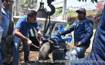 Garantiza Jiutepec abasto de agua potable para 465 usuarios - El Sol de Cuernavaca