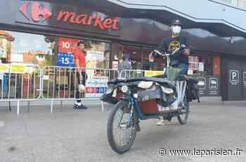 A Fontenay-aux-Roses, Patrick vous livre gratuitement les courses à vélo-cargo - Le Parisien