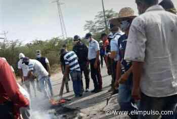 En Quíbor protestaron por no poder abastecerse de gasolina tras 3 días en cola #29Abr - El Impulso