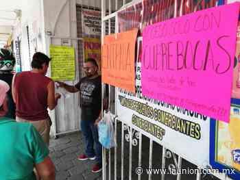 Locatarios de plazas Lido y Degollado, en quiebra - Unión de Morelos