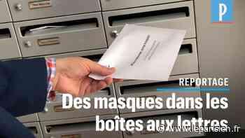 VIDÉO. A Sceaux, le maire distribue des masques dans les boîtes aux lettres - Le Parisien