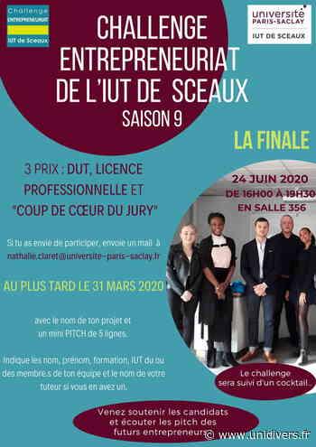 9ème Challenge Entrepreneuriat de l'IUT de Sceaux- IUT de Sceaux 24 juin 2020 - Unidivers