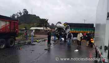 Mortal accidente entre Zipaquirá – Cogua – Ubaté,... - Noticias Día a Día