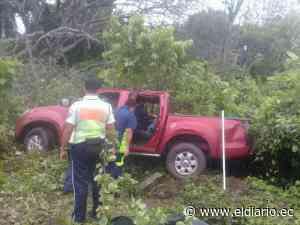 Dos mujeres heridas tras accidente en la vía Colimes - Cascol - eldiario.ec