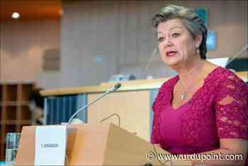 European Commissioner Johansson Says Organized Crime Groups Adapting to COVID-19 Pandemic - UrduPoint News