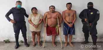 En San Pablo Tacachico cae banda de delincuentes armados y con $637 producto de la extorsión - Diario Digital Cronio de El Salvador
