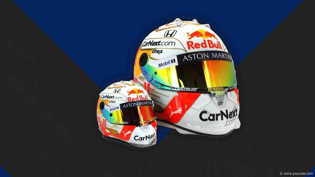 Max Verstappen 1:2 Helmet 2020