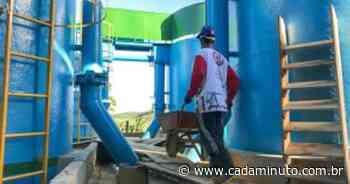 Murici: manutenção em estação de tratamento pode afetar abastecimento - Cada Minuto