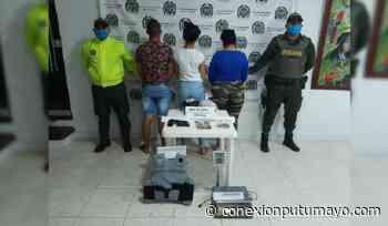 Capturan a tres personas en Puerto Caicedo con munición, droga y dinero - Conexión Putumayo