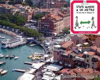 Lerici, segnaletica anti-Covid firmata da Besana (foto) - Gazzetta della Spezia e Provincia