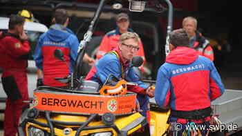 Bergwacht Pfullingen: 80-Jähriger bricht zusammen - SWP