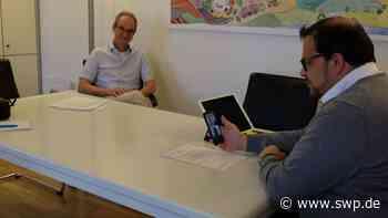 Fragestunde auf Instagram: In Langenau stehen Bürgermeister und Beigeordneter Rede und Antwort - SWP