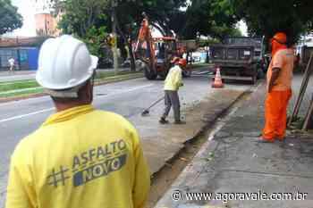 Recapeamento da Rua Siqueira Campos começa hoje - AgoraVale
