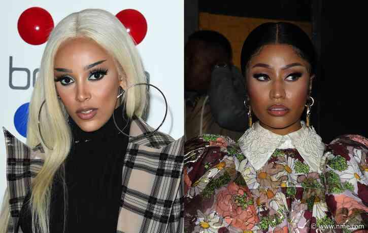Doja Cat announces 'Say So' remix with Nicki Minaj