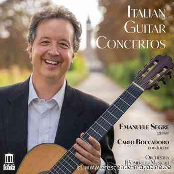 La guitare d'Emanuele Segre : éclectisme garanti - Crescendo Magazine