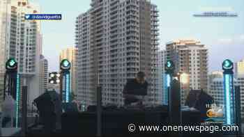 DJ David Guetta Holds 2-Hour Concert Outside Of Icon Brickell - One News Page